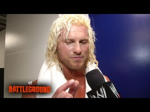 Dolph Ziggler recalls the final moments of the Intercontinental Title Battle Royal: WWE Battleground