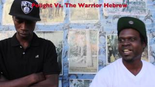 Brother Polight Vs  The Warrior Hebrew