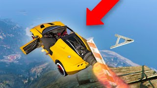 NEW WAY TO TROLL WITH THE ROCKET CAR! | GTA 5 THUG LIFE #305