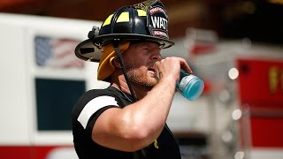 JJ Watt, Firefighter Training