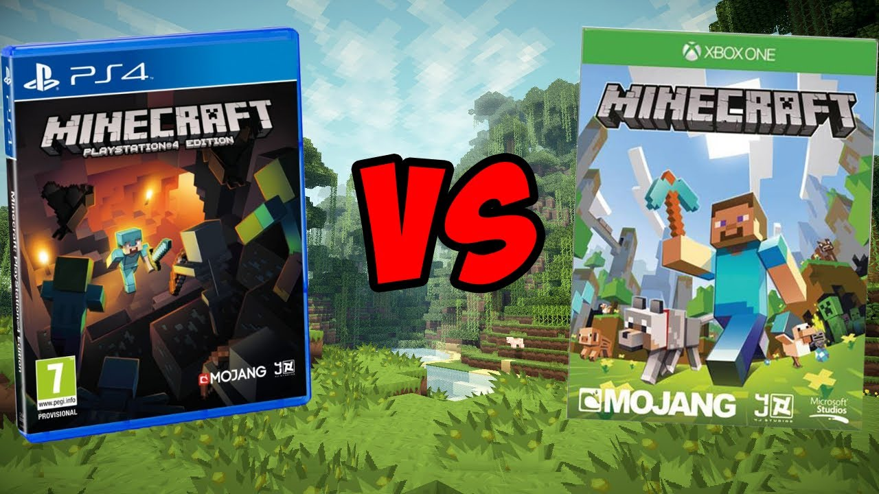 Minecraft xbox one vs minecraft ps4 which is better youtube