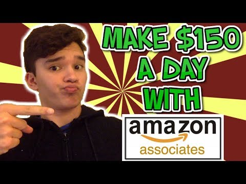 How To Make $150 A Day Amazon Affiliate Marketing Tutorial For Beginners