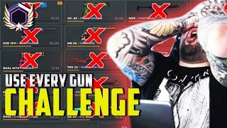 Use every gun CHALLENGE - Critical Ops - Mobile Gaming