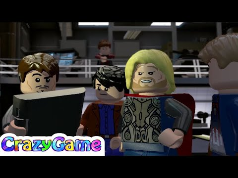 LEGO Marvel's Avengers Episode 9 - Thor, Black Widow, Iron Man vs Wuicksliver, Scarlet Qitch
