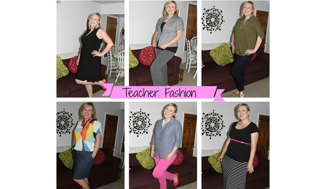 Back to school fashion for teachers