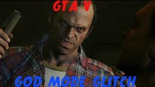 Gta V God mode Glitch + 5 stars