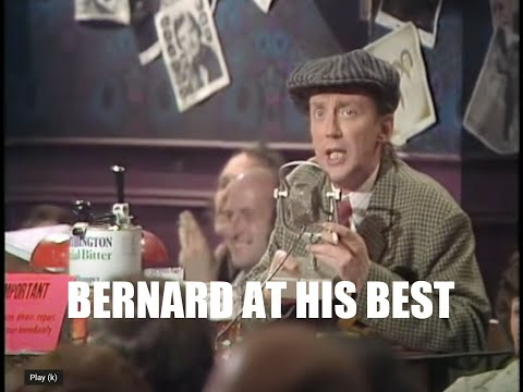 The Comedians 'Bernard' at his best.