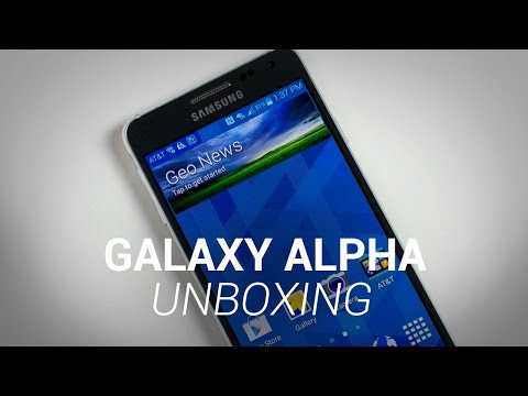 Samsung Galaxy Alpha Unboxing