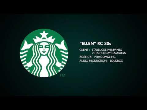"Starbucks Philippines ""Ellen"" radio commercial 30s"