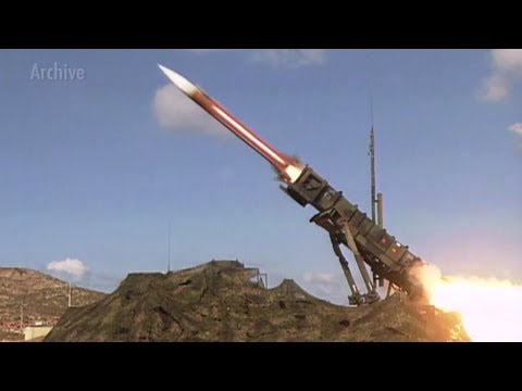 Patriot Missile training in Poland