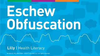 Health Literacy: Scientist Bob's story
