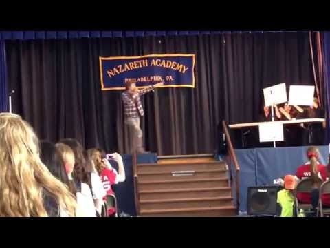 Nazareth Academy teachers and faculty's 2014 talent show skit - 04/11/2014