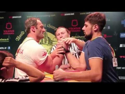 World Armwrestling Championship 2014, day 4, eliminations