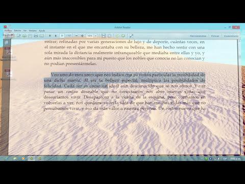Como desbloquear un archivo PDF (protegido)