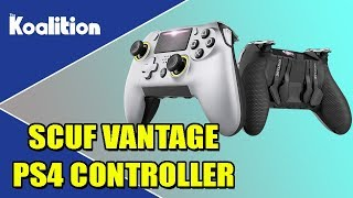 SCUF Vantage PS4 Controller Unboxing and Impressions - The Koalition