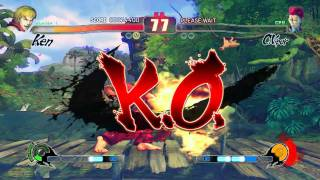Street Fighter IV Reloaded on x3100 [HD]