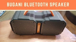 Bugani Monster Bluetooth Speaker Review