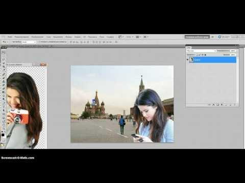 Как себе сделать фон с фоткой