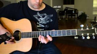 Christ The Solid Rock Acoustic - Tutorial/Lesson - Dan Loewen