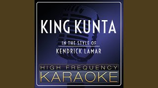 King Kunta Instrumental Version