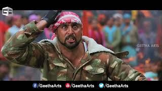 Badrinath Movie Allu Arjun Fight Scene With Terrorists at Amarnath Temple Allu Arjun Prakash Raj