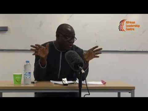 Lecture on Peacebuilding, Leadership and Democratic Consolidatio in Africa