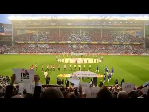 Athletic Club Bilbao - Manchester United F.C. Himno Anthem Pregame 2012