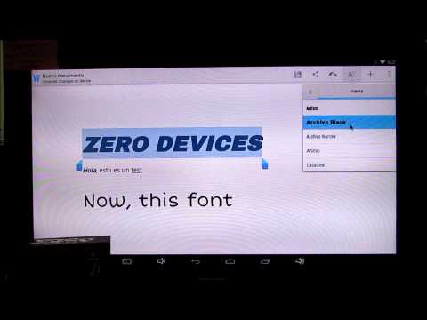 Android 4.4.2 KitKat Quickoffice & Printing - Android PC ZERO Devices Z6C - Firmware BETA (testing)