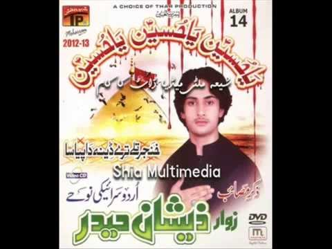 Baba Je Diti Muhalat Saraiki Nohay Zeeshan Haider 2013 New video