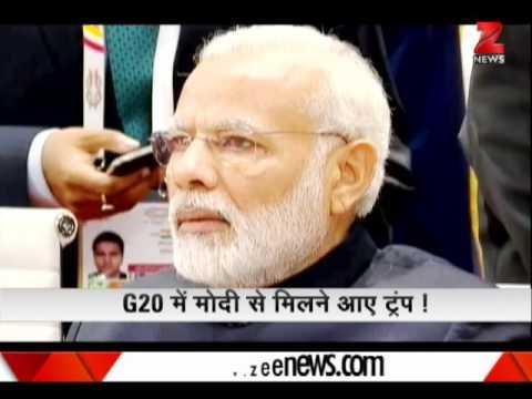 Watch : Donald Trump walks up to 'true friend' PM Modi at G-20 summit | ट्रम्प-मोदी का दोस्ताना