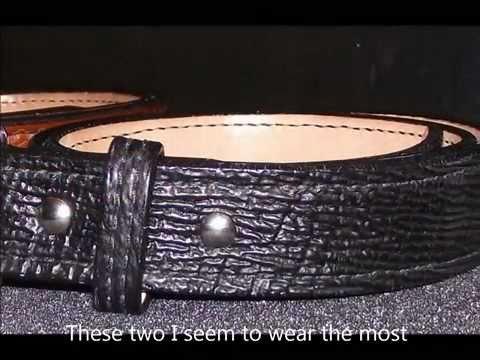 gun belt the beltman the best leather gun belt how to