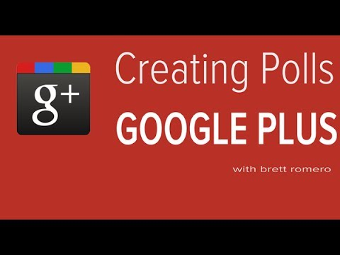 Poll Or Survey In Google Plus: How To Create A Survey