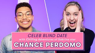 Chilling Adventures of Sabrina Star Chance Perdomo's Blind Date With a Superfan | Celeb Blind Date