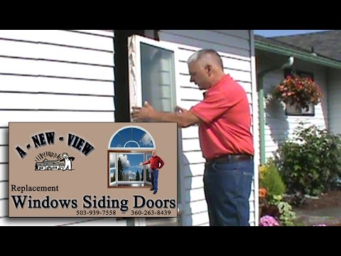 Installing a Window in a House with Metal Siding