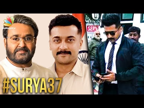 Mohanlal's Suprise Role in Suriya 37? | KV Anand Movie | Latest Tamil Cinema News