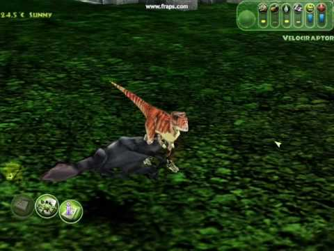 Jurassic PArk Operation Genesis: TLW Raptor Skin