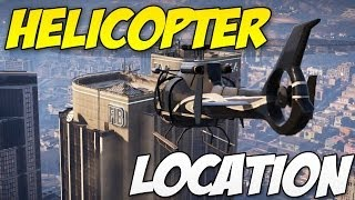 ★ GTA 5 Online - Free Helicopter Location! (How to Find a Helicopter)