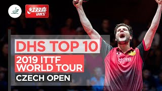 DHS Top 10 Points | 2019 ITTF Czech Open