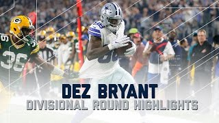 Dez Bryant Goes Off for 132 Yards & 2 TDs   Packers vs. Cowboys   NFL Divisional Player Highlights