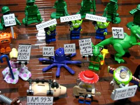 Occupy Andy s Room - a LEGO Toy Story protest