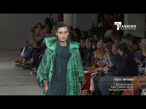 ISSEY MIYAKE Ready-to-Wear Paris Fashion Week Spring/Summer 2019