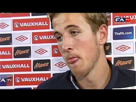 England U19's 1-1 Montenegro U19's | Harry Kane Post Match Interview | UEFA U19 Championship 2012