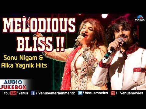 Sonu Nigam & Alka Yagnik   Melodious Bliss   90's Bollywood Romantic Songs   Best Hindi Songs