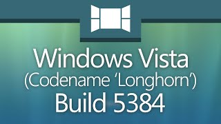 """Windows Vista Build 5384: """"Aurorae"""""""