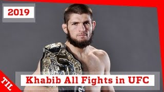 Khabib Nurmagomedov - The Ultimate Champion - All Fights in UFC