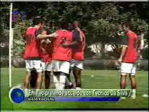 Emelec pretende acuerdo con Tecnico Da Silva