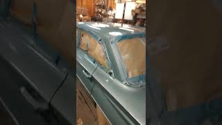Fender fix on 1962 Buick Special turned into complete paint job - part 12