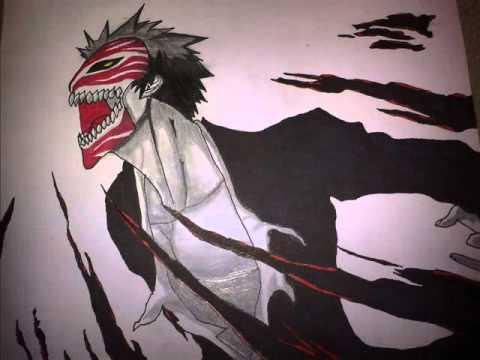 Bleach Mask Drawing Hollow Mask Ichigo Drawing