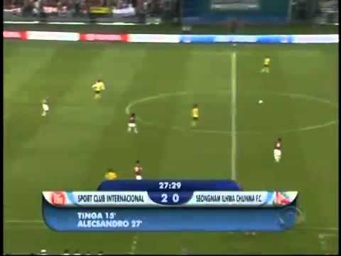 Internacional 4x2 Seongnam Ilhwa - Mundial de Clubes da Fifa 2010
