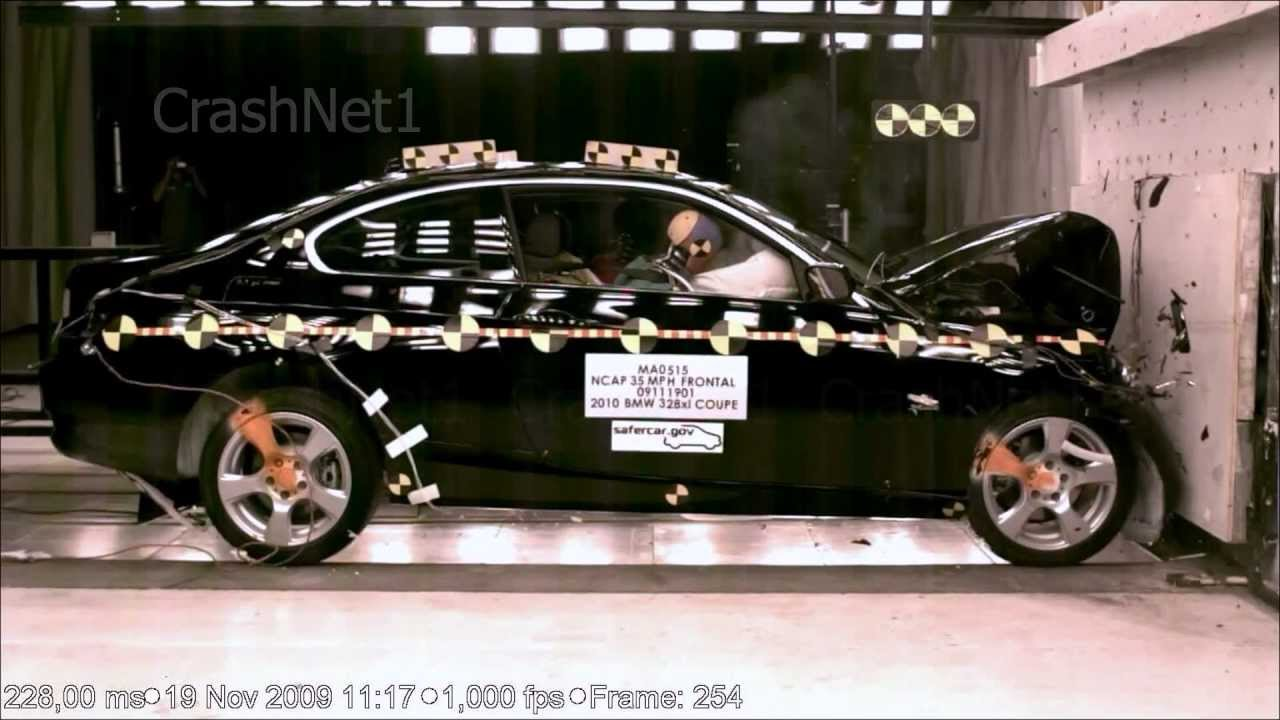 Bmw 3 Series 2010 Frontal Crash Test Nhtsa